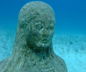 Statue at Green Bay